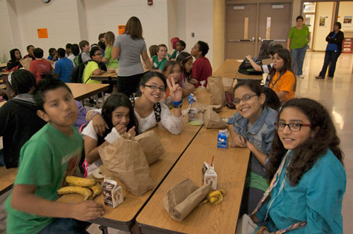 Photo of students in an afterschool program